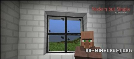 Скачать Modern but Simple [16x] для minecraft 1.7.4