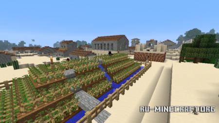 Скачать Millenaire Mod для minecraft 1.7.2