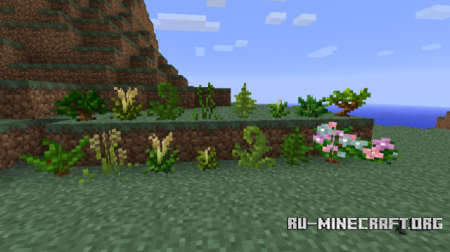 Скачать Temperate Plants Mod для minecraft 1.7.2