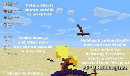 Скачать Better PvP для minecraft 1.7.5