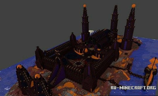 Как сделать в майнкрафте адский замок
