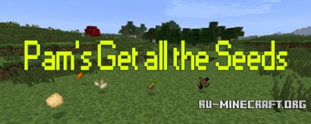 Скачать Pam's Get all the Seeds Mod для minecraft 1.6.4