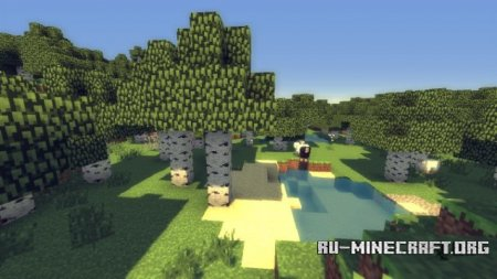 ������� MineCloud Shaders Mod ��� Minecraft 1.7.5