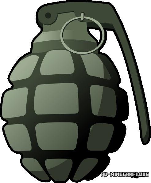 Скачать мод на майнкрафт 1.7.10 на гранаты