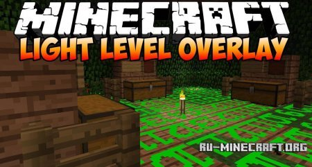 Скачать Light Level Overlay для Minecraft 1.5.1