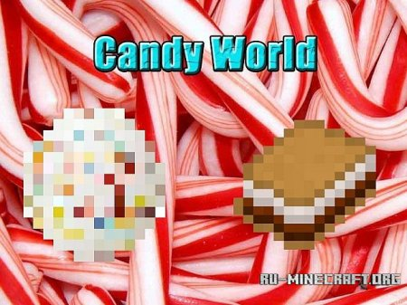 Скачать CandyWorld minecraft 1.7.2