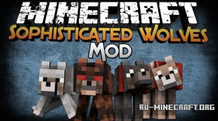 ������� Sophisticated Wolves ��� minecraft 1.7.2