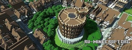 Скачать карту CITY-OF-THRAIR для Minecraft