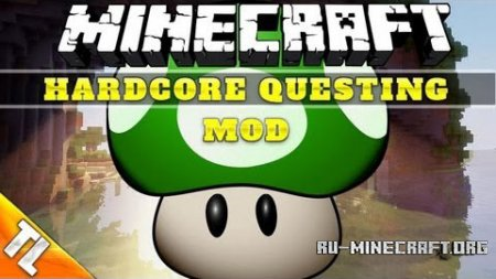 Скачать Hardcore Questing Mode для Minecraft 1.7.2