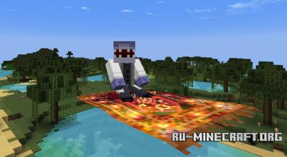 Скачать MagicCarpet Mod для Minecraft 1.6.2
