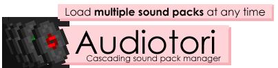 Скачать Audiotori для Minecraft 1.5.2