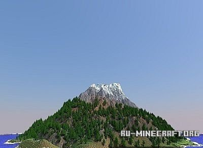 Скачать карту PC Xbox Download - Custom Terrain - Volcanic Pines для Minecraft