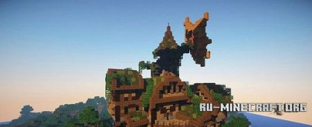 ������� Fantasy House Pack - 5 houses ��� minecraft