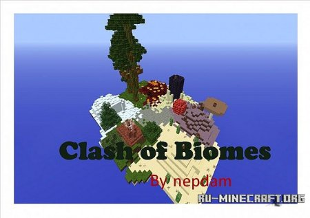 ������� Clash of Biomes ��� minecraft