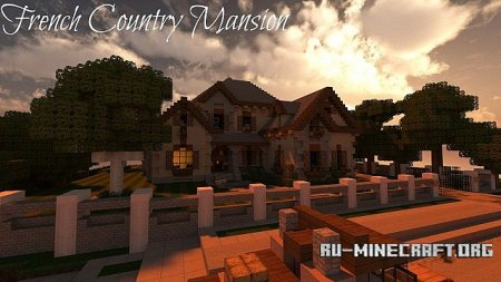 ������� French Country Mansion 2 ��� minecraft