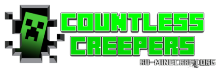 Скачать Countless Creepers для minecraft 1.7.2