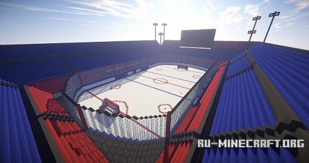 Скачать Oustanding Outdoor Hockey Arena для minecraft