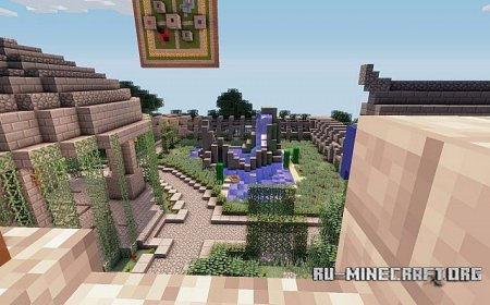 Скачать Battlegarden by GwerSig CTF для minecraft