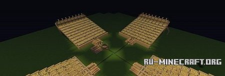 Скачать карту MEGA Wheat Farm 6604 SEEDS Updated для minecraft