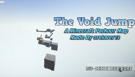 Скачать карту  The Void Jump - Parkour Map для minecraft