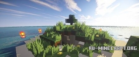 ������� �����  Survival Map - Lone Survivor ��� minecraft