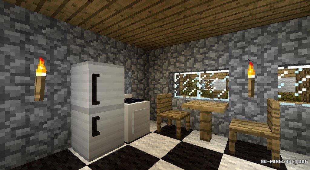 Мебель для майнкрафт 1.7.5