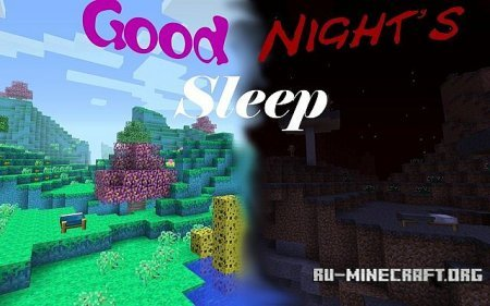 Скачать Good Nights Sleep для Minecraft 1.6.4
