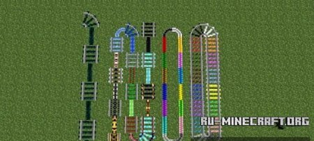������� Expanded Rails Mod ��� Minecraft 1.6.4