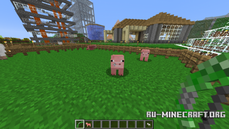 Скачать Craftable Animals для minecraft 1.7.9