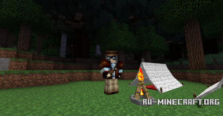 ������� The Camping Mod ��� Minecraft 1.7.9