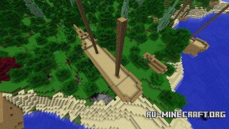 Скачать Shipwreck World Generation для Minecraft 1.6.4