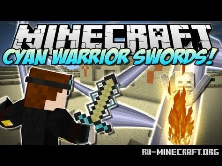 ������� Cyan Warrior Swords ��� Minecraft 1.6.4