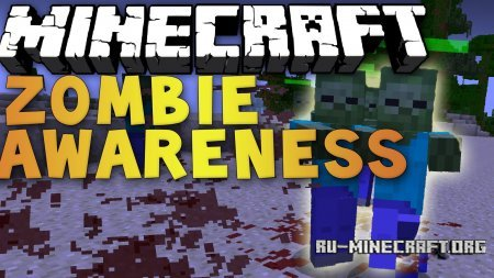 ������� Zombie Awareness ��� Minecraft 1.6.4