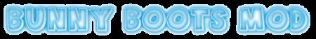 Скачать Bunny Boots Mod для Minecraft 1.6.2