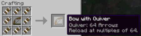 ������� QuiverBow ��� Minecraft 1.6.4