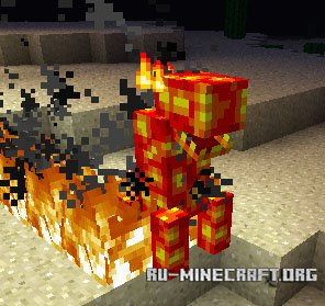 Скачать Lava Monsters для Minecraft 1.7.10