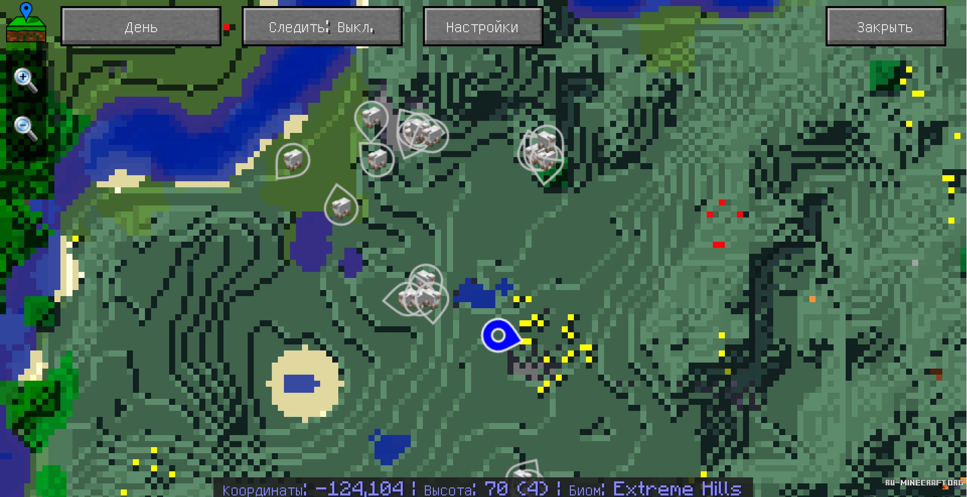 Мод на карту journeymap для minecraft 1. 9/1. 8. 9/1. 8/1. 7. 10.