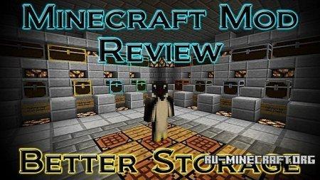 Скачать better storage mod для minecraft 1 7 10