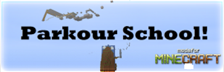 ������� Parkour school ��� Minecraft