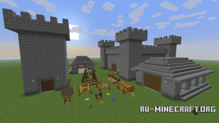 Скачать Ancient Warfare для Minecraft 1.7.10