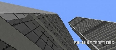 ������� Twin Towers ��� Minecraft