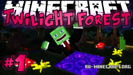 Скачать Twilight Forest для Minecraft 1.7.10