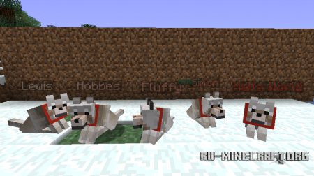 ������� Sophisticated Wolves ��� Minecraft 1.7.10
