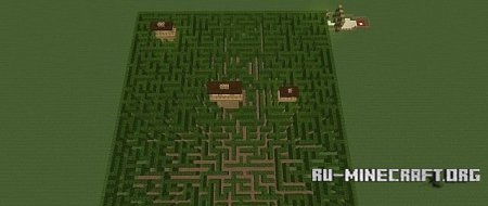 ������� Hedge Maze ��� Minecraft