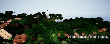 �������  Extreme Biome Parkour  ��� Minecraft