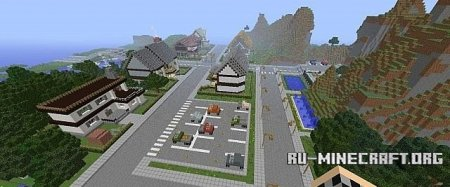 Скачать  Neighborhood для Minecraft