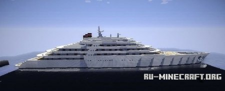 Скачать  AZZAM Biggest Superyacht для Minecraft