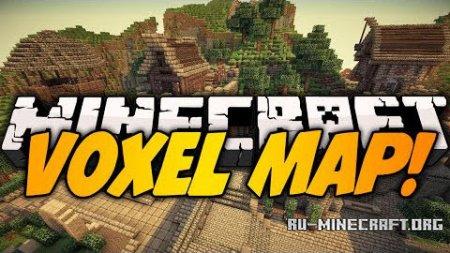 Скачать VoxelMap для Minecraft 1.8