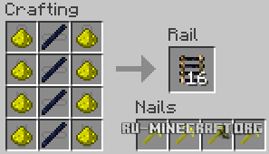 ������� Expanded Rails ��� Minecraft 1.7.10