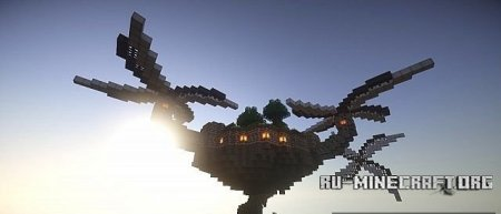 �������  Flying Island (First-Attempt) ��� Minecraft
